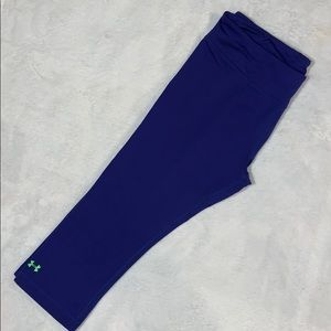 Purple UnderArmor Capris
